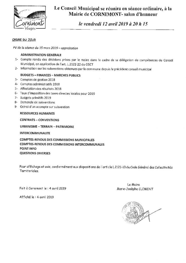 ORDRE DU JOUR CONSEIL MUNICIPAL CORNIMONT-page-001