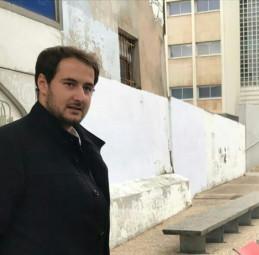 Bastien Bonnafoux a 24 ans. Il est étudiant en master 2 d'études européennes à Nancy. Il est membre des «Jeunes Européens».
