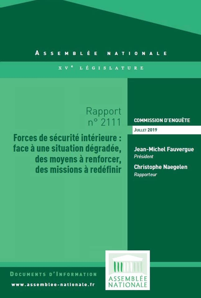 christophe naegelen rapport commission d'enquête