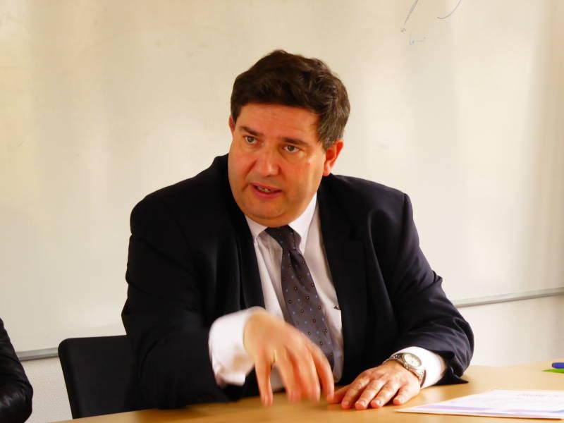 Dominique Peduzzi, président de l'association des mairies des Vosges