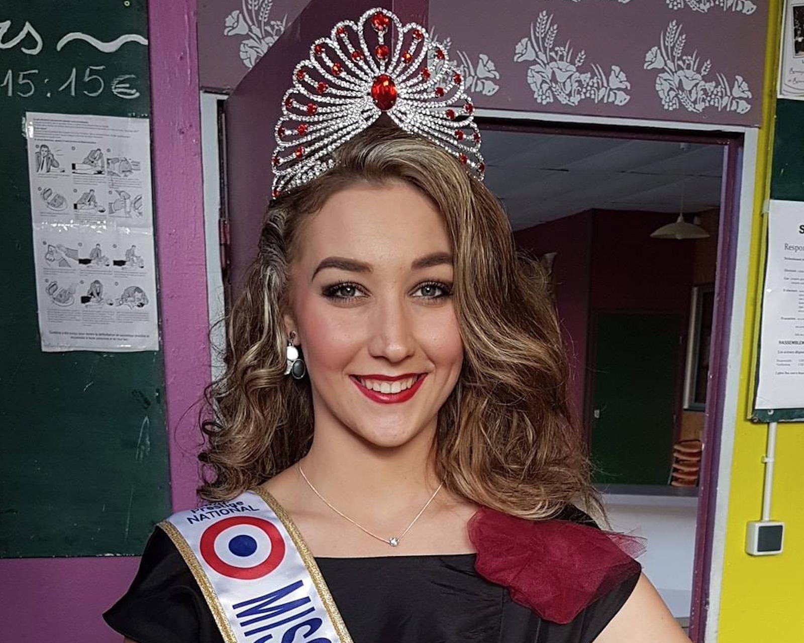 "Photo de la page Facebook ""Océane, Miss Prestige National 2019"""