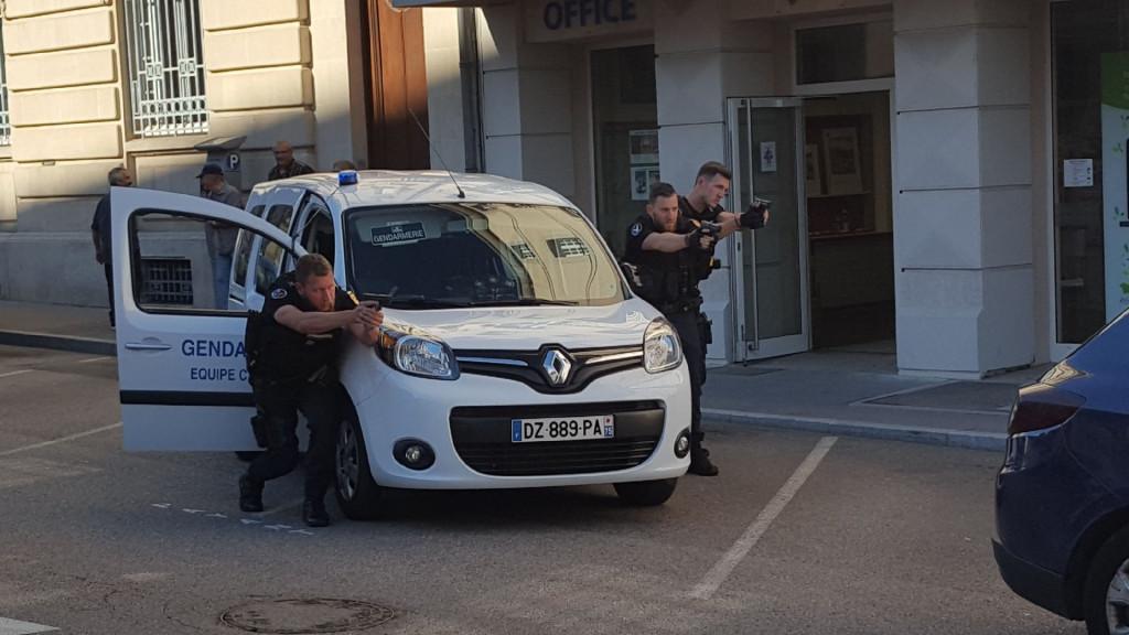 Photo de la page Facebook de la Gendarmerie des Vosges