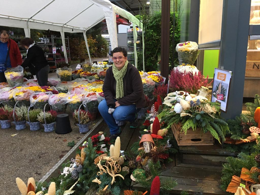 Toussaint fleurs et création