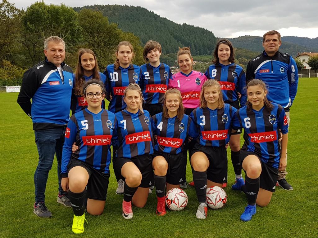 équipe féminine eloyes