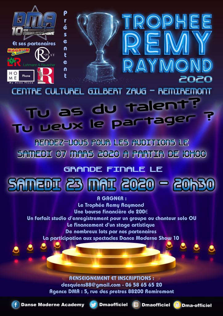 trophée rémy raymond 2020