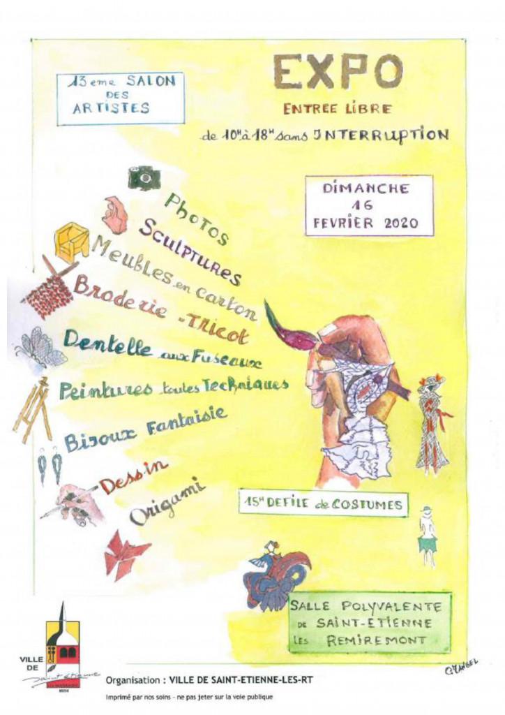 AFFICHE GALERIE 16-02-2020