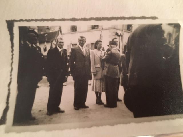 Après la libération, Jacqueline a reçu la croix de guerre