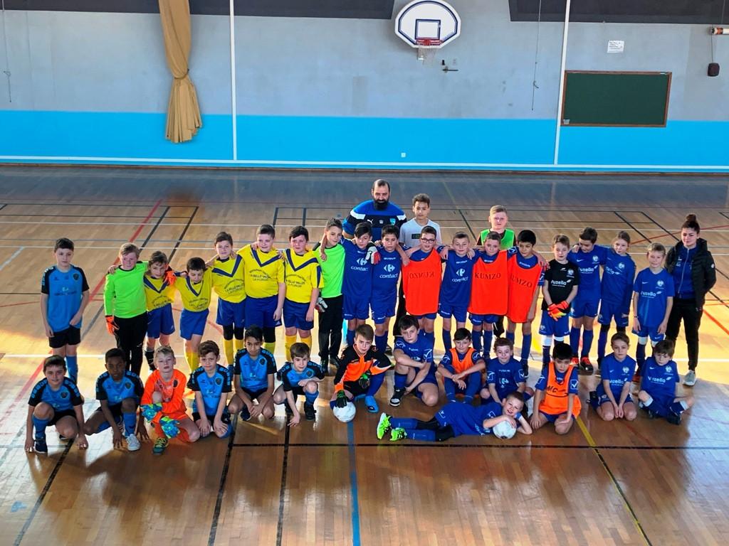 U11 équipe 3 en Futsal Cornimont 07-02-2020