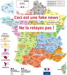 fake map
