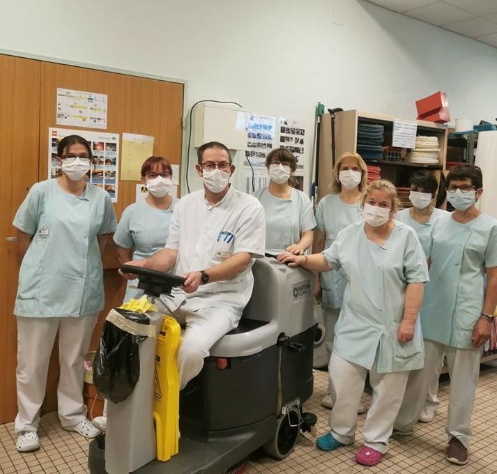 Photo de la page Facebook du centre hospitalier
