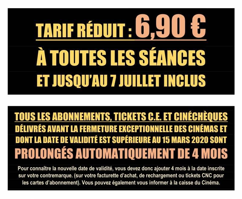 Informations Réouverture - Mail