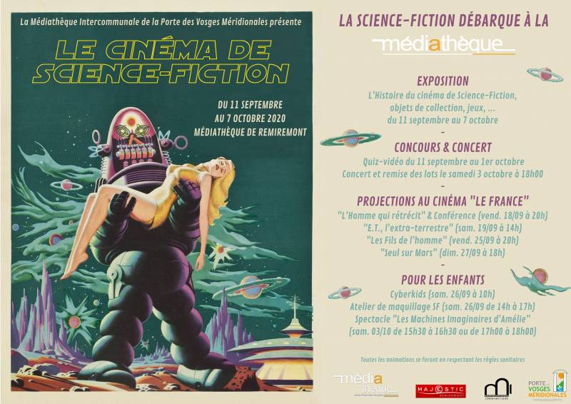 Affiche programme SF mail