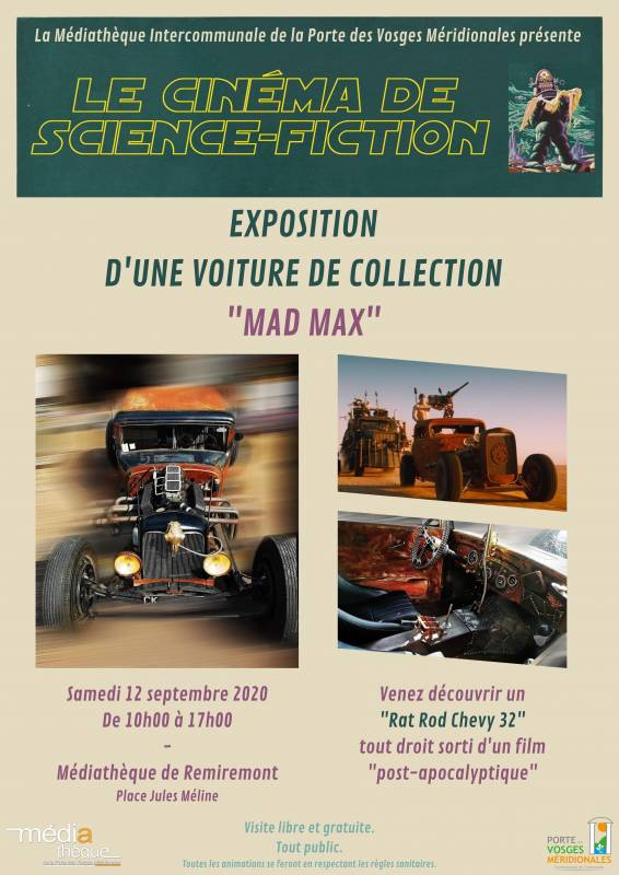 Voiture Mad Max - Mail