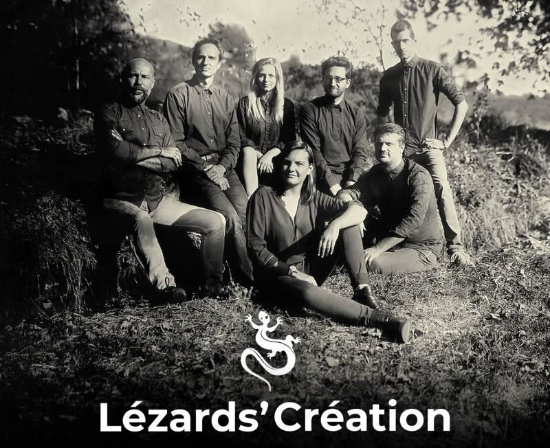 lézards création