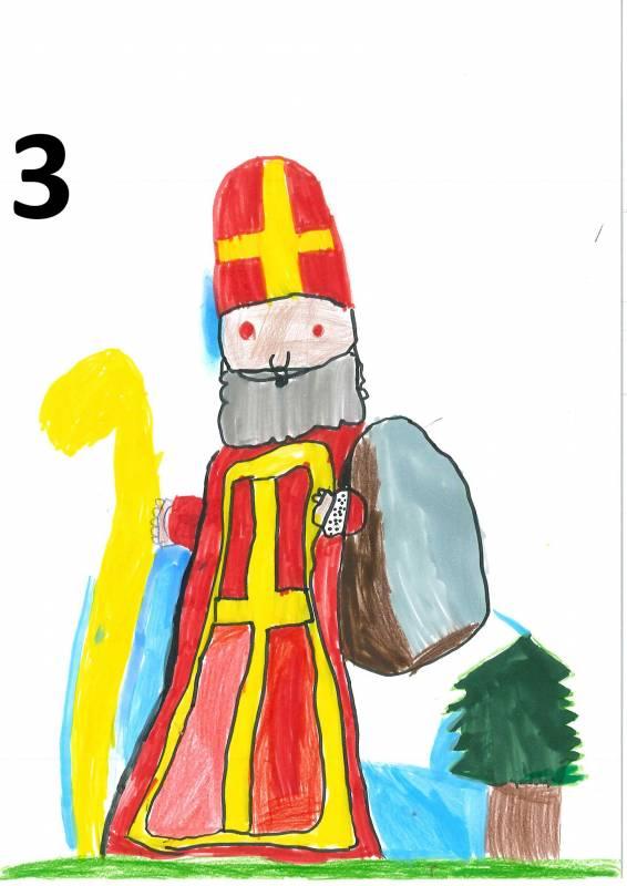 Remiremont 25 Enfants Participent Au Concours De Dessin De Saint Nicolas Remiremont Info
