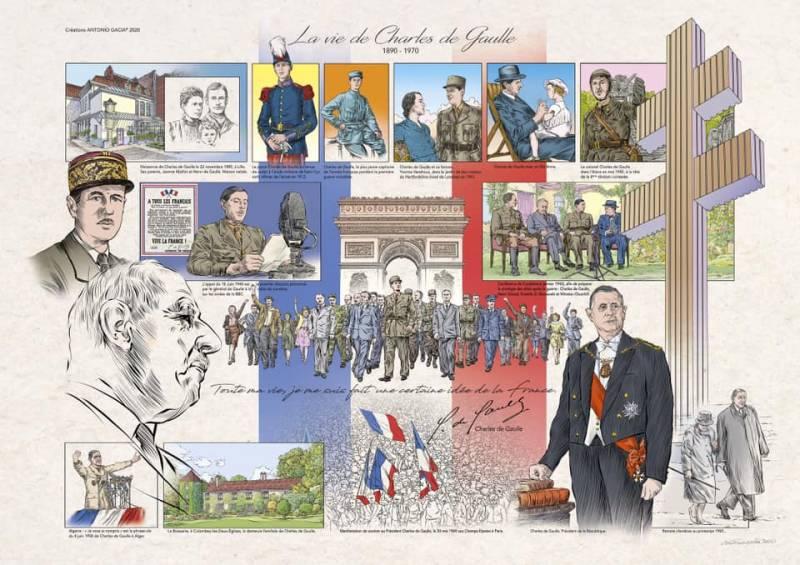 50e-anniversaire-de-la-disparition-du-Général-de-Gaulle-antonio-gacia