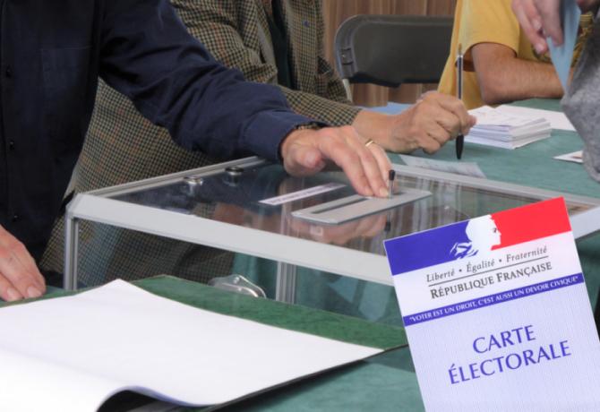 elections vote urne bulletin carte electorale