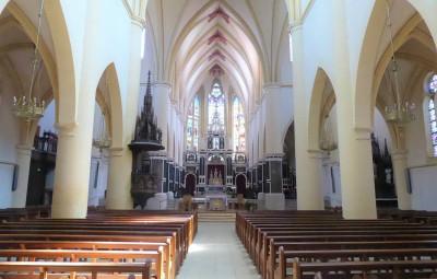 église abbatiale Remiremont paroisse
