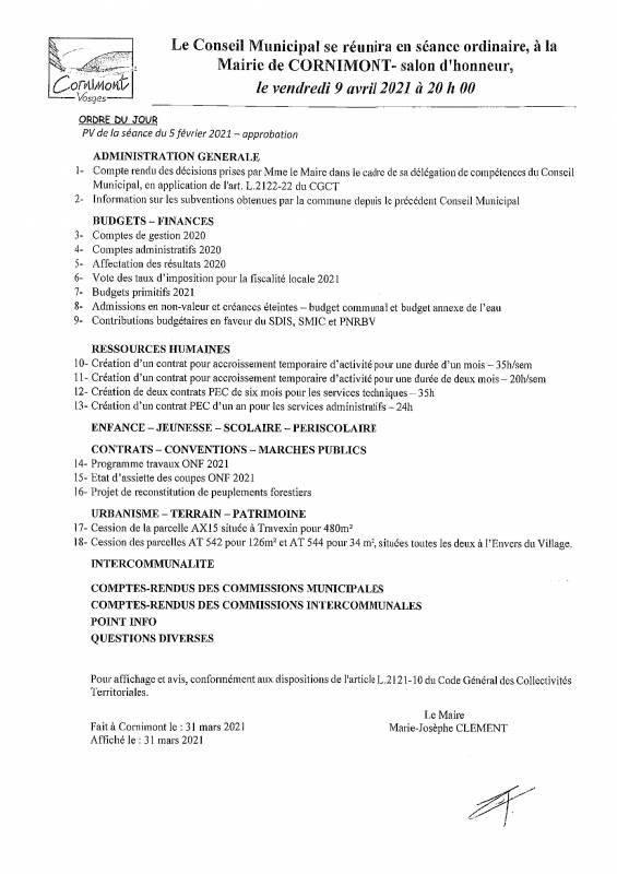 ORDRE DU JOUR CONSEIL MUNICIPAL DU 09.04.2021-page-001 (1)
